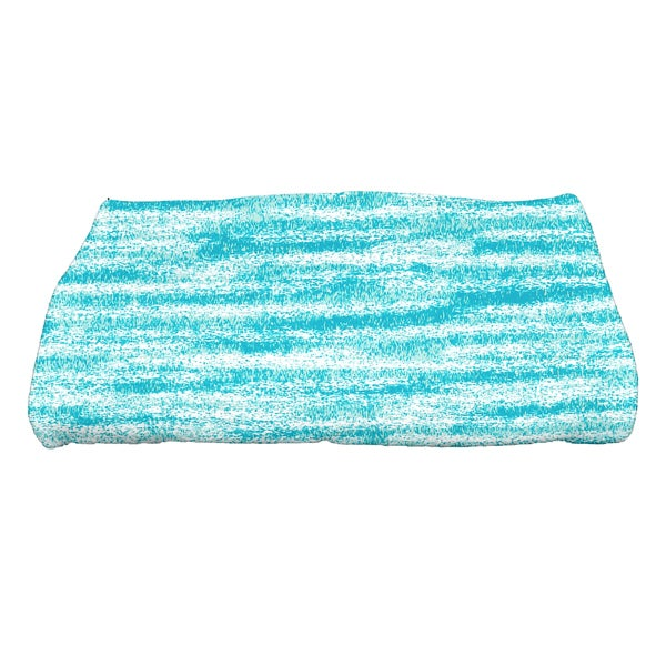 28 x 58-inch Ocean View Geometric Print Bath Towel
