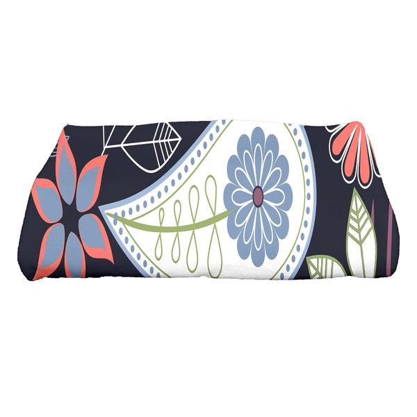 30 x 60-inch Paisley Floral Floral Print Bath Towel
