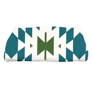 28 x 58-inch Patna Geometric Print Bath Towel