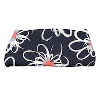 30 x 60-inch Penelope Floral Geometric Print Bath Towel