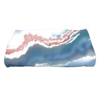 28 x 58-inch Remolina Geometric Print Bath Towel
