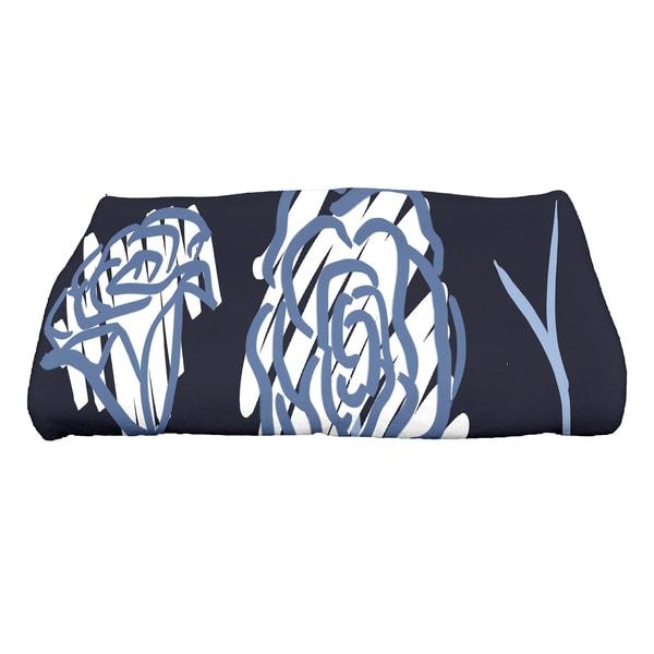 28 x 58-inch Spring Floral 2 Floral Print Bath Towel
