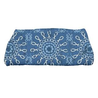 28 x 58-inch Sun Tile Geometric Print Bath Towel