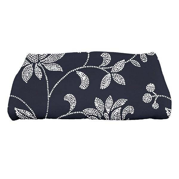 30 x 60-inch Traditional Floral Floral Print Bath Towel