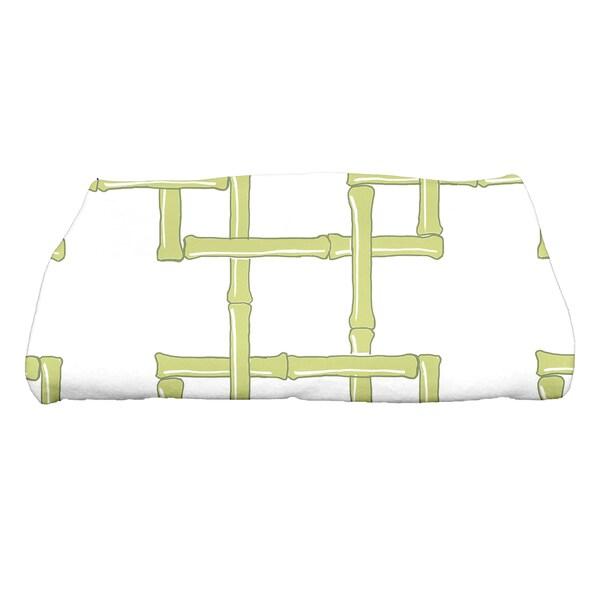 28 x 58-inch Bamboo 2 Geometric Print Bath Towel