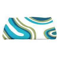 28 x 58-inch Agate Geometric Print Bath Towel