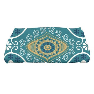 28 x 58-inch Illuminate Geometric Print Bath Towel