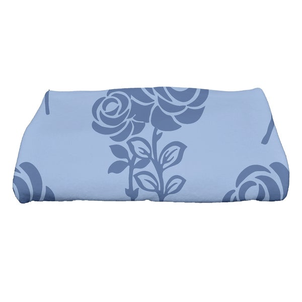 30 x 60-inch Carmen Floral Print Bath Towel