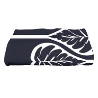 28 x 58-inch Fern 2 Floral Print Bath Towel