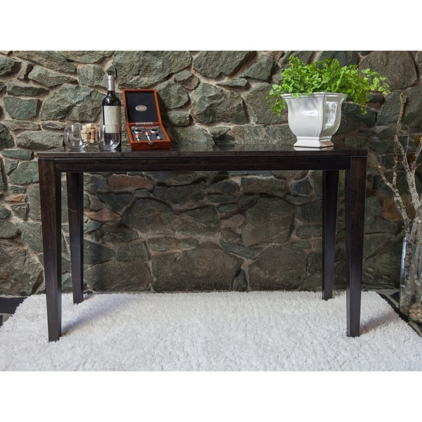 Bamboogle Sturdy Narrow Console Table