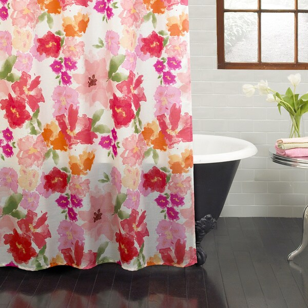 Excell Posie Shower Curtain