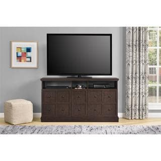 Ameriwood Home Cooper Apothecary 55-inch Espresso TV Stand
