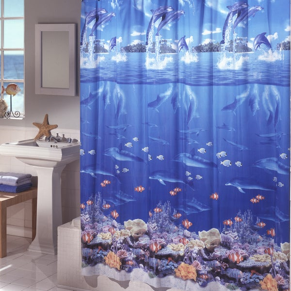 Excell Sea Life Shower Curtain