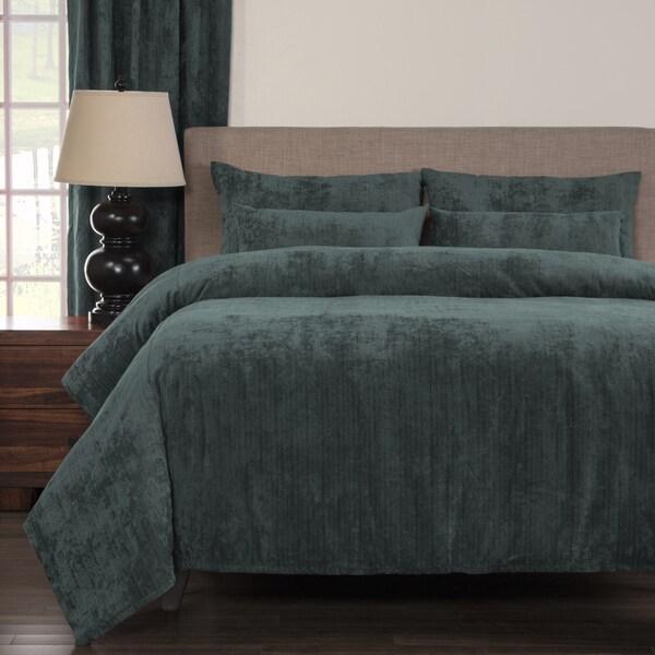 Draper Blue Soft 6-piece Duvet Cover Set