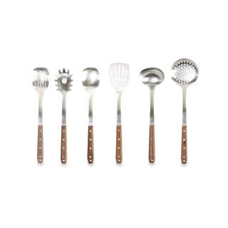 Schmidt Brothers Kitchen Brass Walnut 7-piece Set