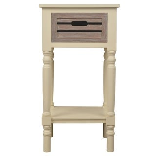 Melody 1-drawer Wood Side Table