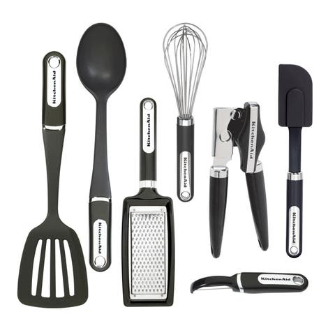 KitchenAid Black 7-piece Tool and Gadget Set