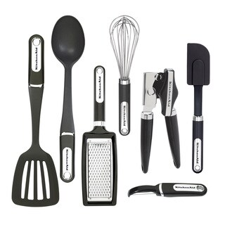 KitchenAid Black 7-piece Tool and Gadget Set
