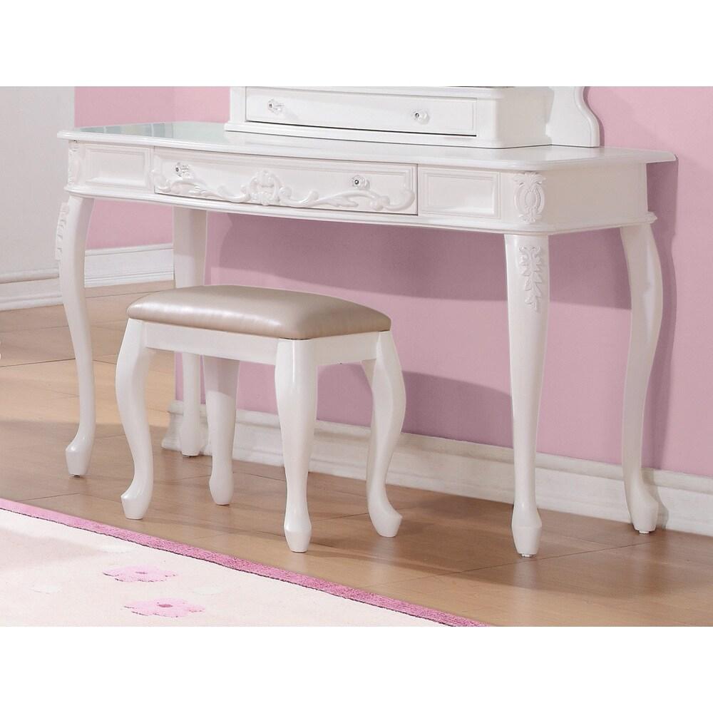 Coaster Furniture White Princess Vanity (Vanity)