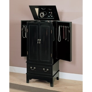 Link to Coaster Company Home Furnishings Transitional Jewelry Armoire (Black) Similar Items in Bedroom Accents