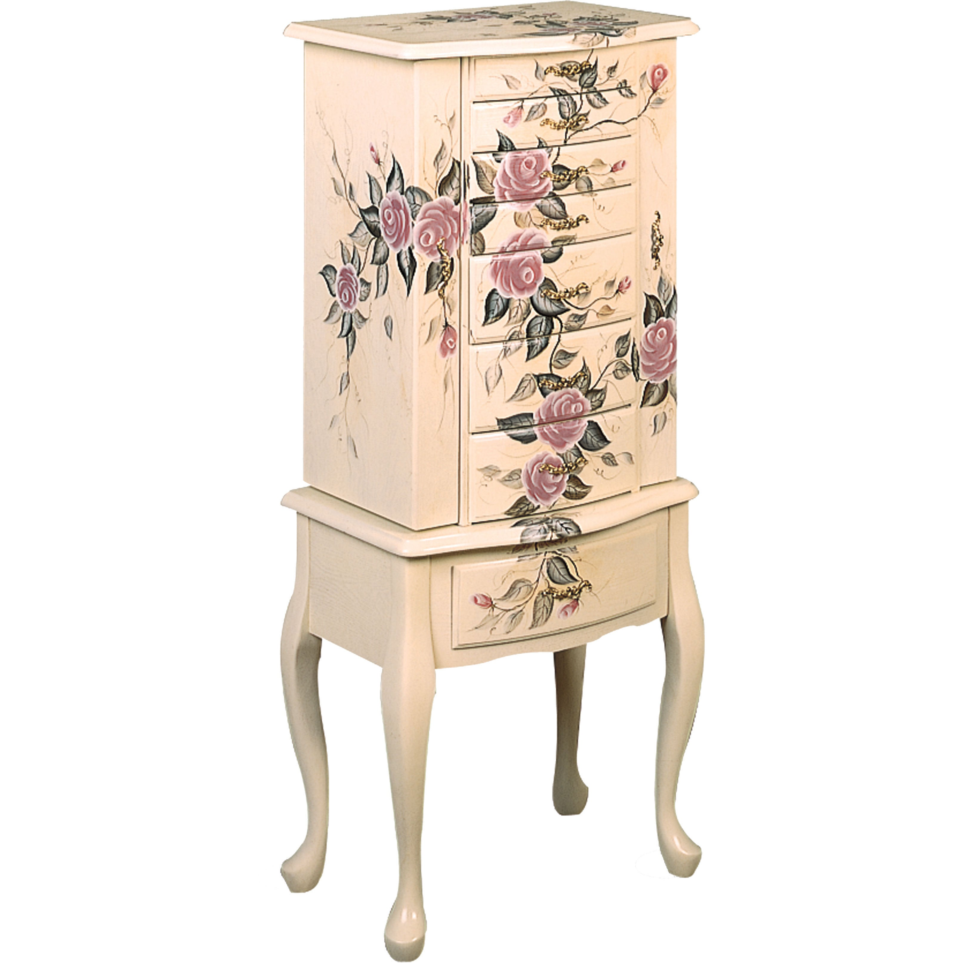 Coaster Furniture Floral Jewelry Armoire (Jewelry Armoire...