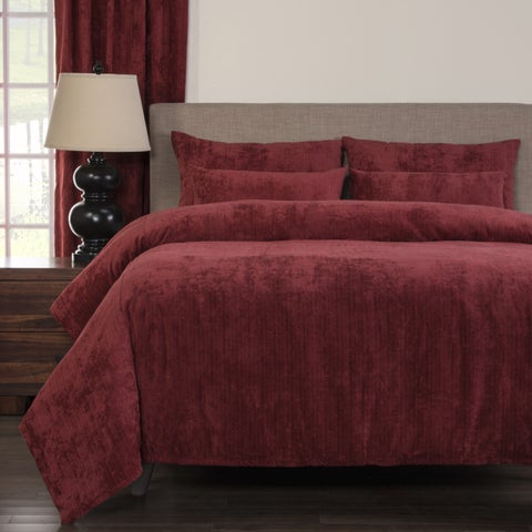Silver Orchid Powell Rumba Soft 6-piece Duvet Cover Set