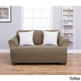 Home Fashion Designs Cambria Collection Heavyweight Stretch Slipcover and Furniture Protec