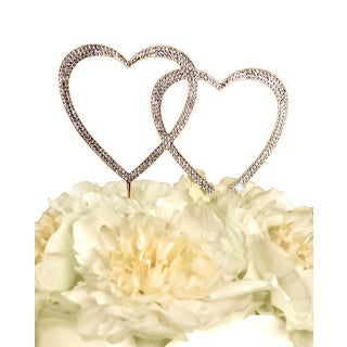 Unik Occasions Sparkling Collection Double Heart in Gold