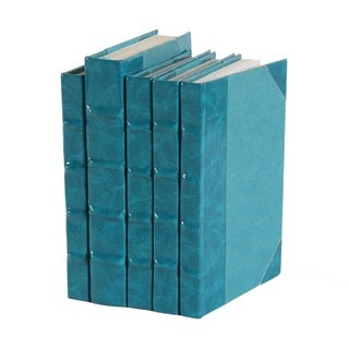Patent Leather Books - Teal, S/5