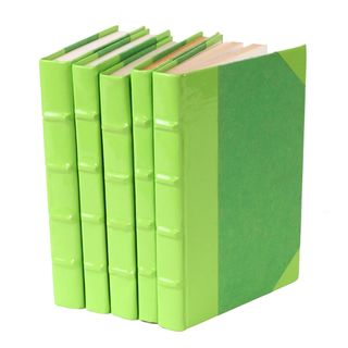 Patent Leather Books - Lime Green, S/5