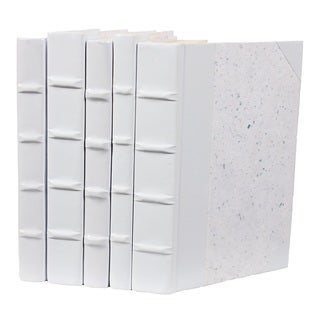 Patent Leather Books - White, S/5