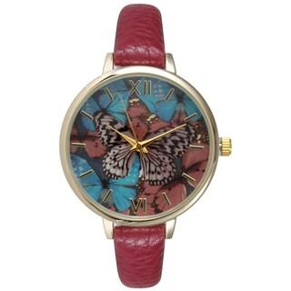 Olivia Pratt Women's Stylish Butterfly Watch