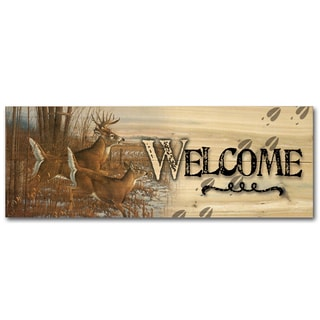 WGI Gallery Season's End Indoor/Outdoor Welcome Plaque/Sign Printed on Wood