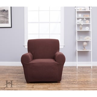 Home Fashion Designs Cambria Collection Heavyweight Stretch Chair Slipcover