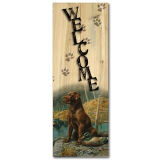 WGI Gallery 'Ready To Go' Wood Indoor/Outdoor Welcome Sign
