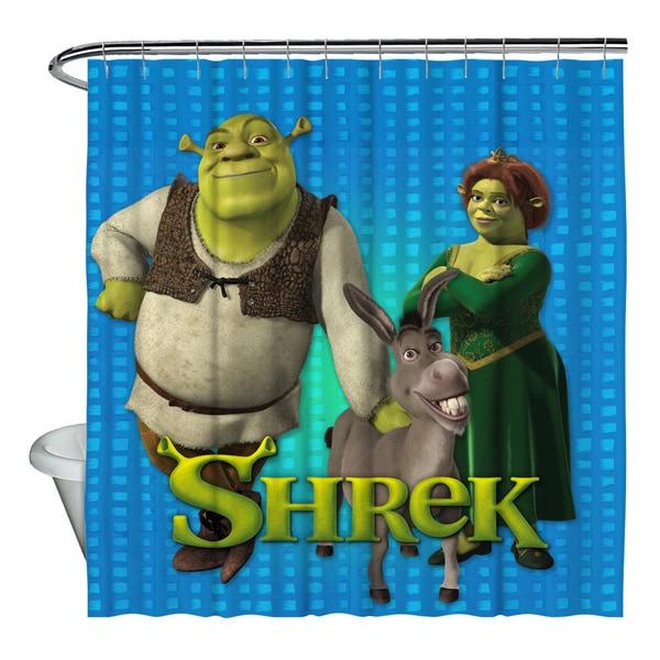 Shrek Pals Shower Curtain