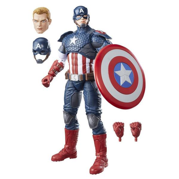 Hasbro 12-inch Avengers Legends Captain America Action Figure B7433