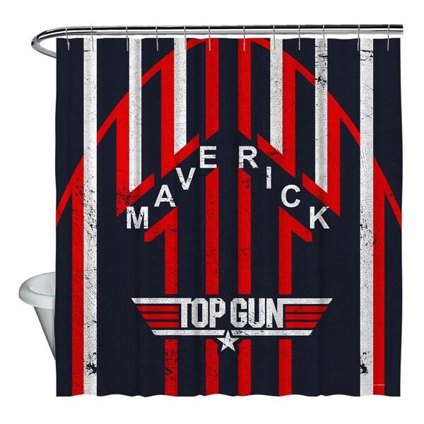 Shop Top Gun Maverick Shower Curtain