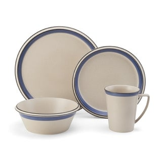 Mikasa Concord Cobalt Dinnerware Set (Pack of 4)
