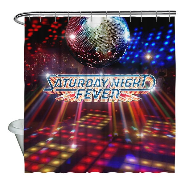Shop Saturday Night Fever Dance Floor Shower Curtain Free Shipping