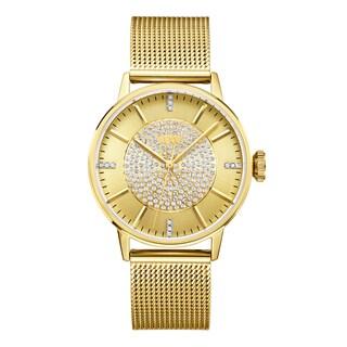 JBW Women's Belle 18k Gold-plated Stainless Steel Diamond Watch