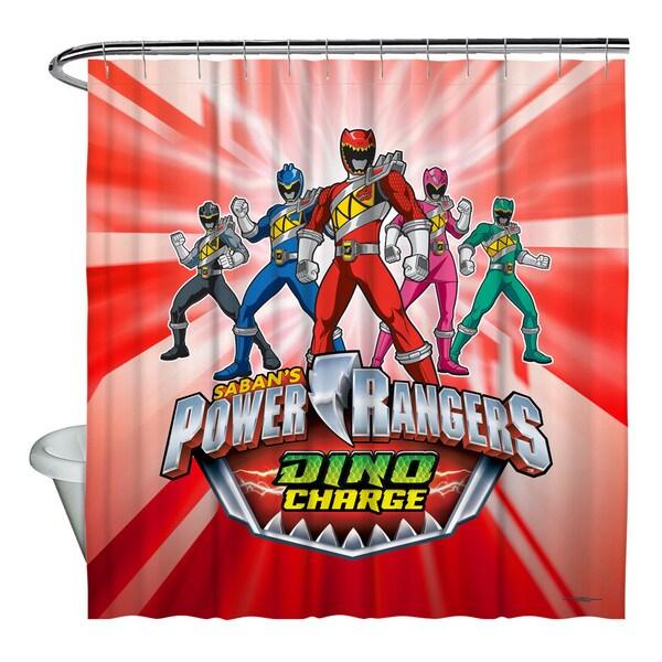Shop Power Rangers Dino Ranger Shower Curtain
