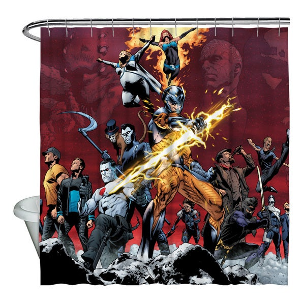 Valiant Stand Tall Shower Curtain