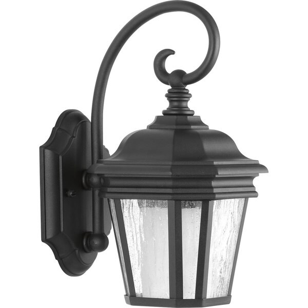 Progress Lighting P6630-31 Black Aluminum Small Wall Lantern