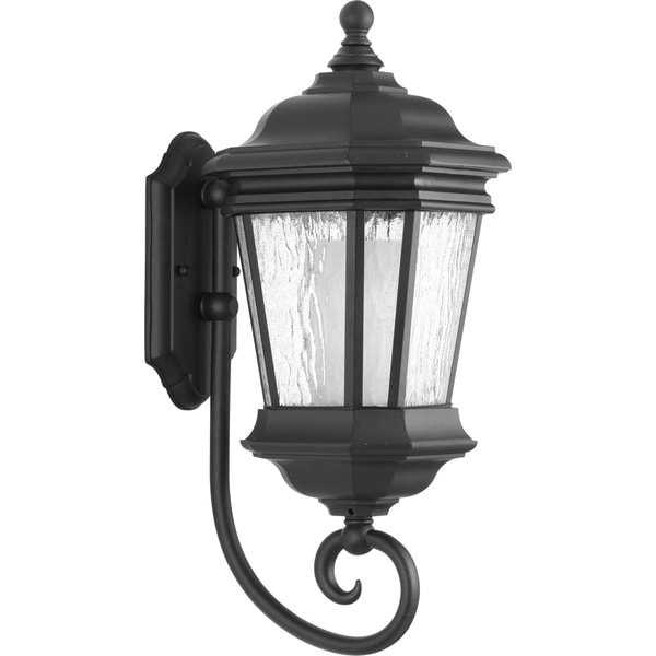 Progress Lighting P6631-31 Medium Wall Lantern in Black Finish