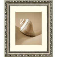 Framed Art Print 'Mythic Beach V Shell' by Jeff Friesen 12 x 14-inch