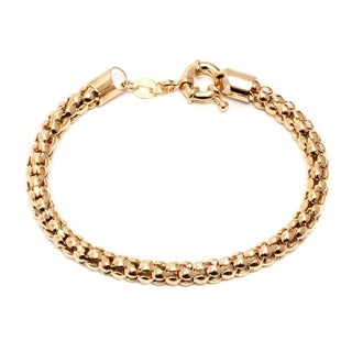 Link to Goldplated Popcorn Bracelet - Gold Similar Items in Bracelets