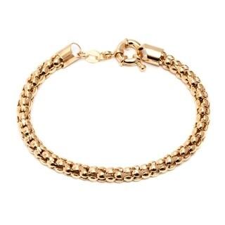 18k Goldplated Popcorn Bracelet