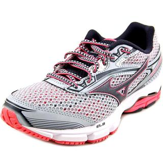Mizuno Women's 'Wave Legend 3' Grey Mesh Athletic Shoes