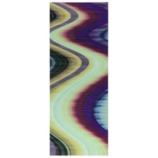Empire Art 'Rumba 3' Frameless Free-floating Tempered Art Glass